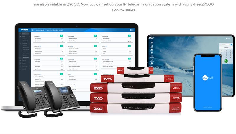 Zycoo CooVox-U100 - Communication Networks Solution